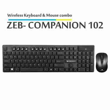 Zebronics 102 Wireless Keybaord